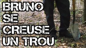 Bruno se creuse un trou: la démarche derrière le roman
